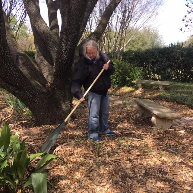 Memorial Garden Cleanup Spring 2019