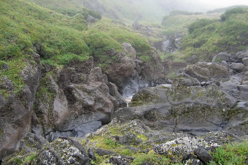 Ручей Водопадный, Камчатка