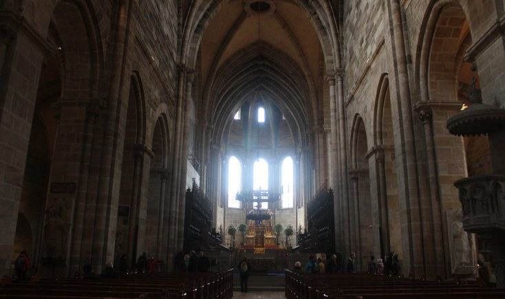 Interior of the Cathedral of Bamberg