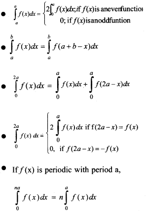 Plus Two Maths Notes Chapter 7 Integrals 10