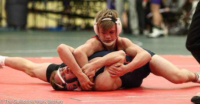 113 - Jake Rundell (Oak Park River Forest) over Paxton Creese (Shakopee) Dec 11-6 - 180105emk0019