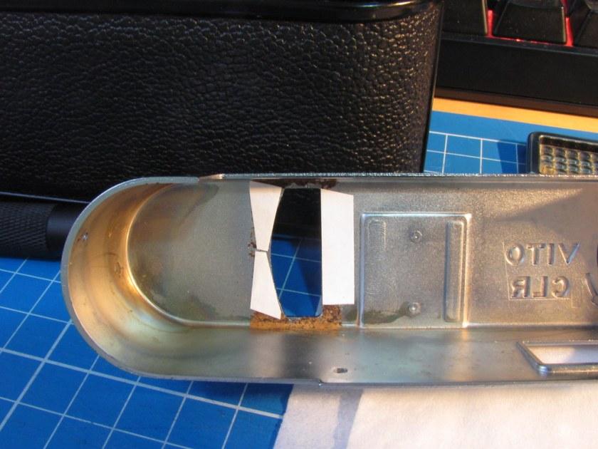 Voigtländer Vito CLR light meter control window repair