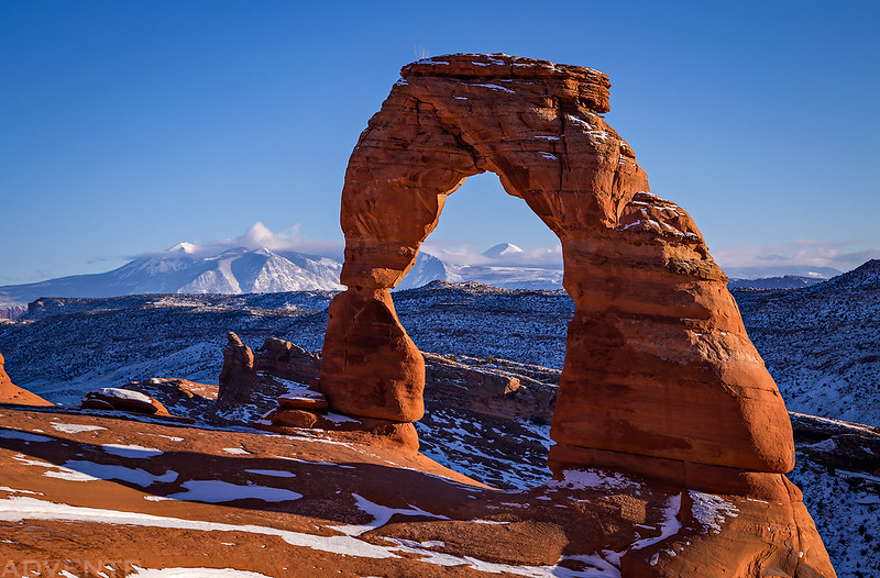 Delicate Arch, New Year's Day 2019