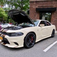 """""""Mocha Latte"""" Dodge Charger Hellcat at the 2018 Scarsdale Concours"""
