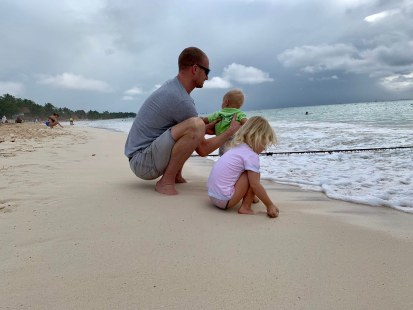Beach day in Playa del Carmen, Mexico