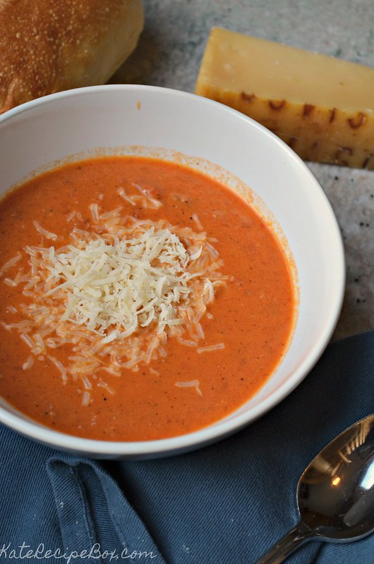 Tomato Asiago Soup  3
