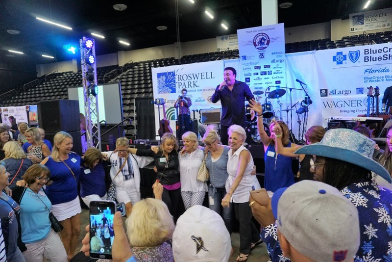 Buffalo Native & Entertainer Frankie Scinta Performed During the 3rd Annual Everything Buffalo Party in Sarasota, Fla., Feb. 27, 2019