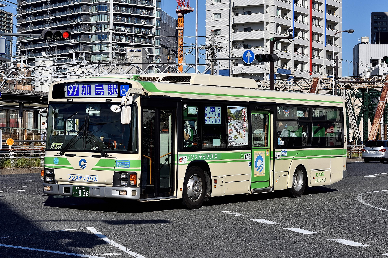 大阪シティバス - ことみんのしゃしんおきば。