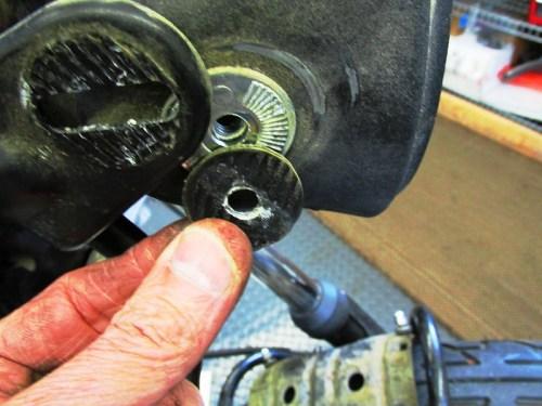 Headlight Left Side Grommet Between Headlight Ear and Shell