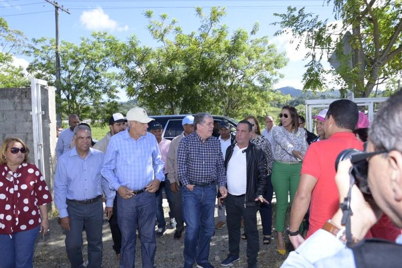 Visita en San Jose de Ocoa