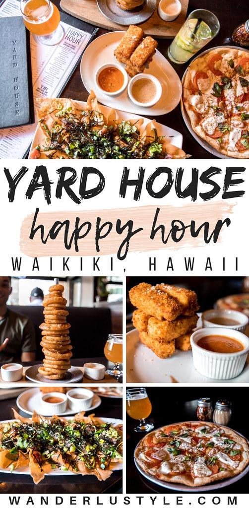 Happy Hour at Yard House in Waikiki, Hawaii - Hawaii Happy Hours, Waikiki Happy Hours, Happy Hour in Hawaii   Wanderlustyle.com