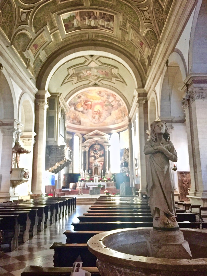 Itinerario di Trento - Santa Maria Maggiore interno