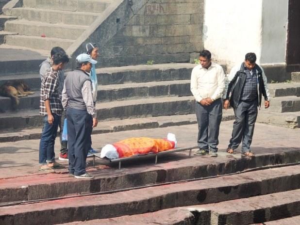 Cremaciones en el Templo Pashupatinath