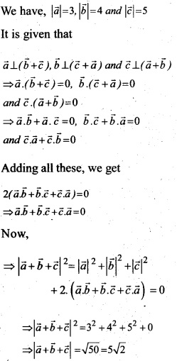 Plus Two Maths Chapter Wise Questions and Answers Chapter 10 Vector Algebra 40