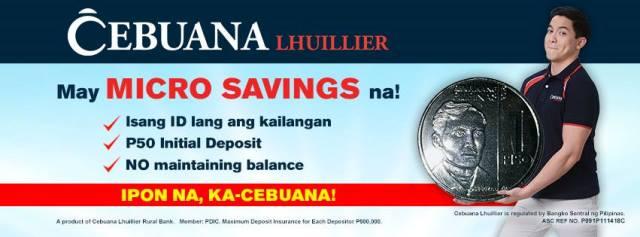 Cebuana Lhuillier Micro Savings 2
