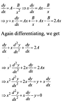 Plus Two Maths Chapter Wise Questions and Answers Chapter 9 Differential Equations 23