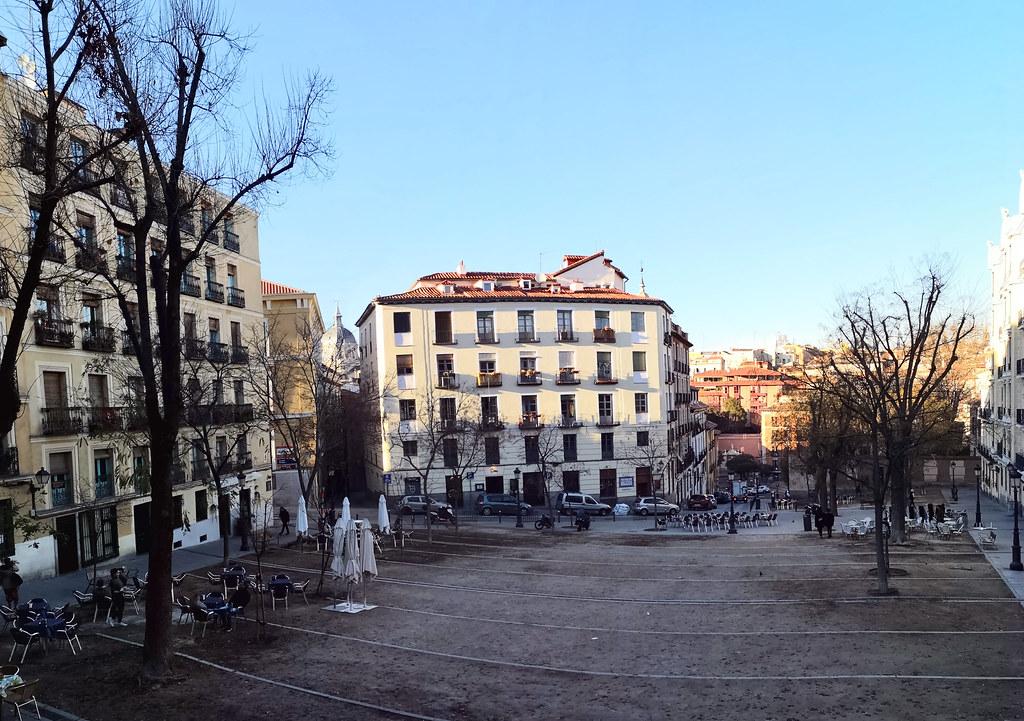 edificios en Plaza de la Paja Madrid 02