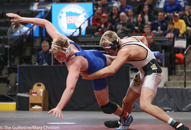 195AA 1st Place Match - Ty Moser (Perham) 46-0 won by decision over Grant Parrish (Kasson-Mantorville) 29-5 (Dec 5-1) - 190302BMC5050