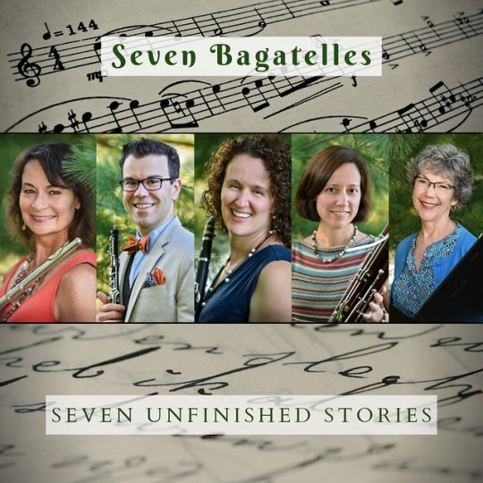 Sam Clark, flute; Jason McKinney, oboe; Anne Bara, clarinet; Christina Duperron, bassoon; & Jan Ross, reader