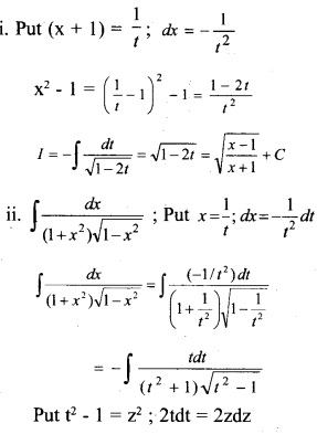 Plus Two Maths Chapter Wise Questions and Answers Chapter 7 Integrals 38