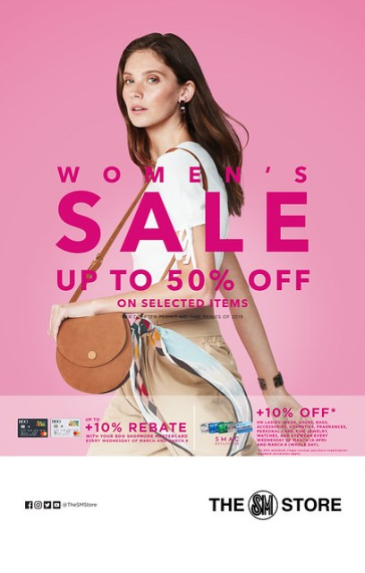 The SM Store Women's Month Poster