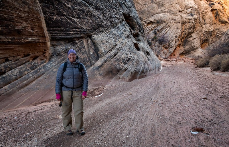 Diane In Capitol Gorge