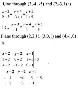 Plus Two Maths Chapter Wise Questions and Answers Chapter 11 Three Dimensional Geometry 36