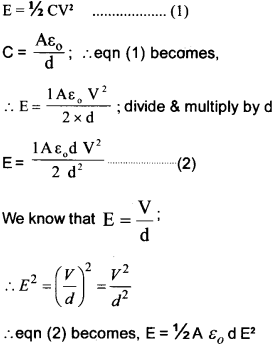 Plus Two Physics Chapter Wise Questions and Answers Chapter 2 Electric Potential and Capacitance 28