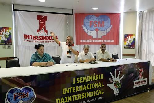 1º Seminário Internacional da Intersindical (13/03)