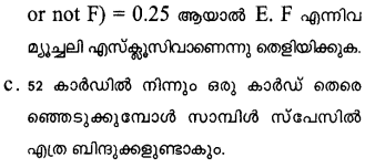 Plus One Maths Model Question Papers Paper 3Q24.1