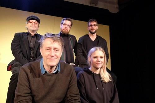 Johan Huldt, Johanna Wikerman, Richard Carlsohn, Tobias Almborg, Maurits Elvingsson