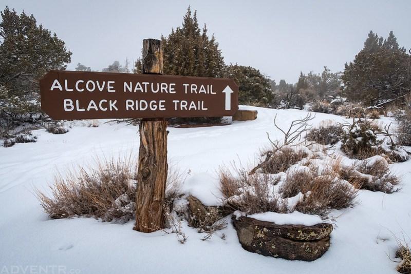 Alcove Nature Trail Sign