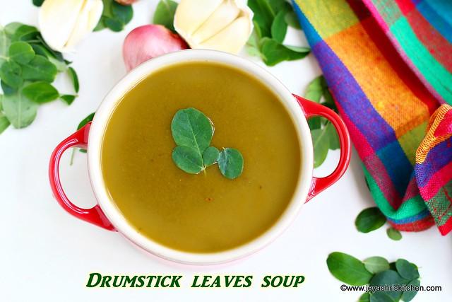 Murungakeerai Soup