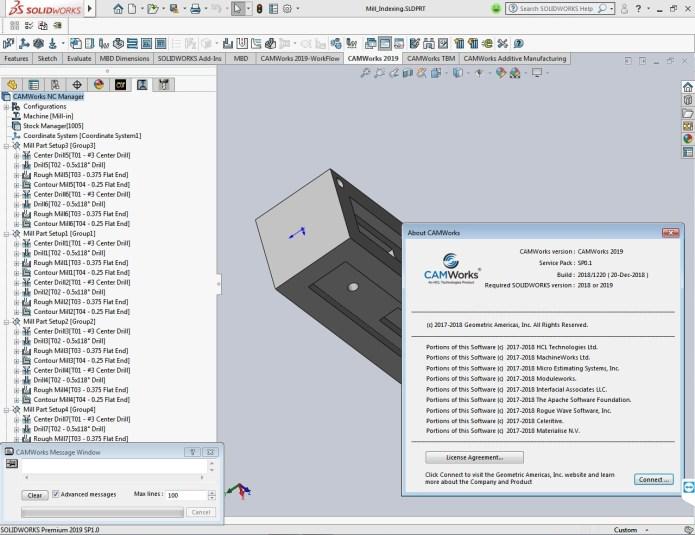 CAMWorks 2019 SP0.1 for solidworks 2012-2019 x64 full license