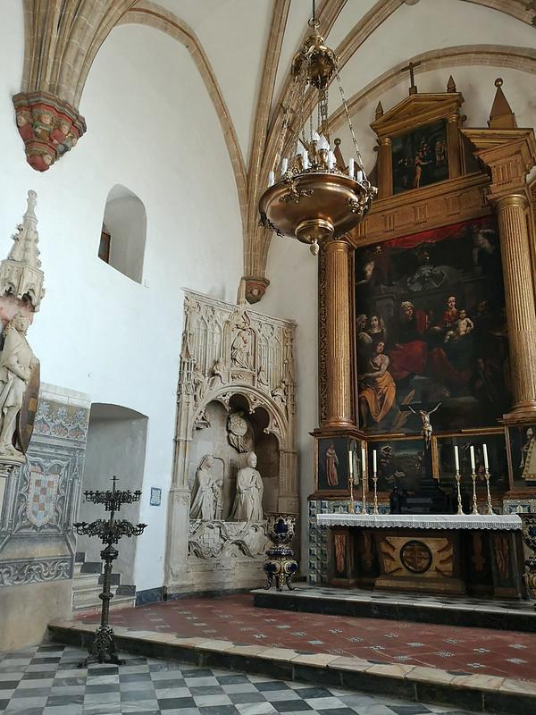 Capilla de los Velascos o de Santa Ana interior Real Monasterio de Santa Maria de Guadalupe Caceres 02