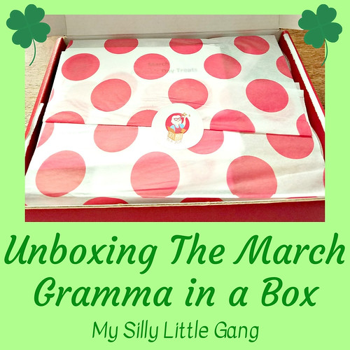 Unboxing The March Gramma In A Box @SMGurusNetwork #GrammaInABox #subscriptionbox #SPRING19
