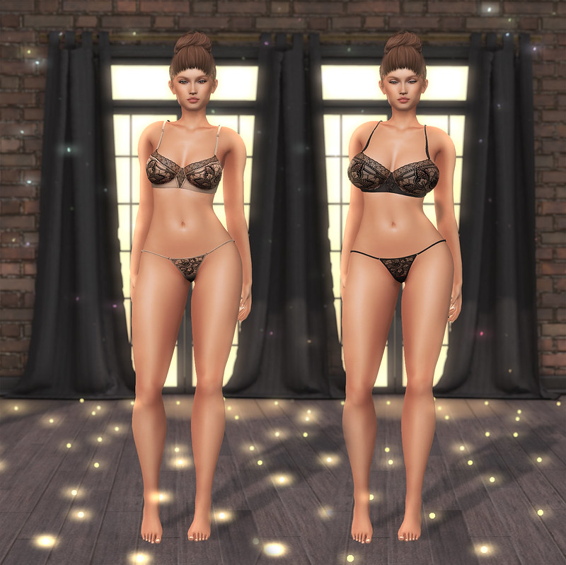 Tonic Fine and Curvy Mesh Bodies