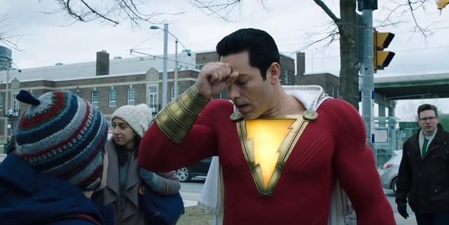 Shazam - 영웅이 아닙니다.