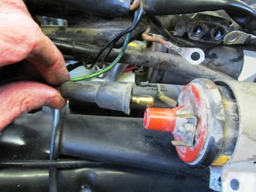 Remove Coil Spark Plug Wire