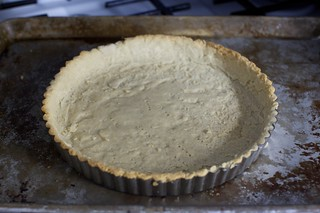 par-baked tart shell