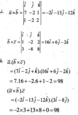 Plus Two Maths Chapter Wise Questions and Answers Chapter 10 Vector Algebra 58