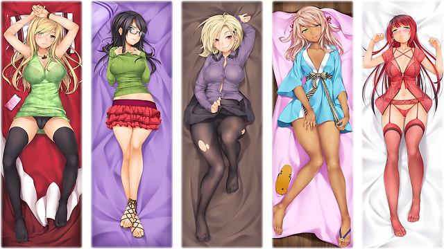My Girlfriend - Dakimakuras