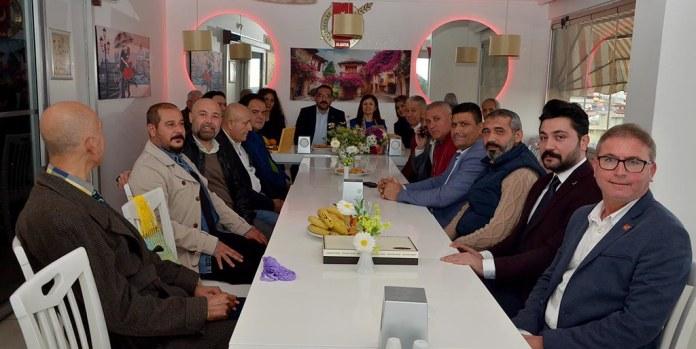 CHP'den AGC Başkanı Gaye Coşkun'a ziyaret