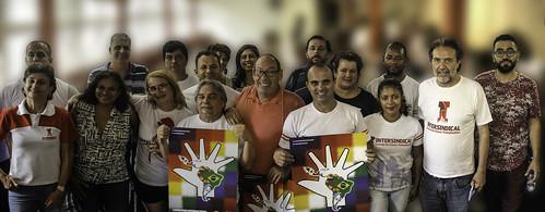 Lançamento da Direção Estadual da Intersindical São Paulo