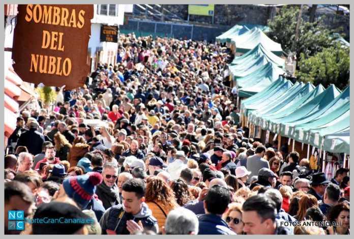 Fiesta del Almendro en Tejeda por Antonio Ali