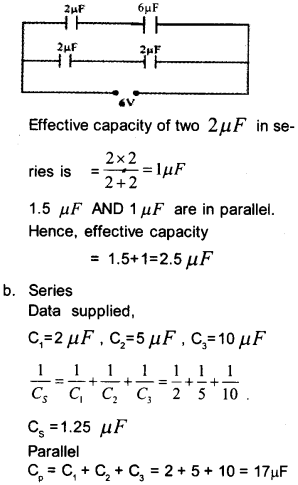 Plus Two Physics Chapter Wise Questions and Answers Chapter 2 Electric Potential and Capacitance 16