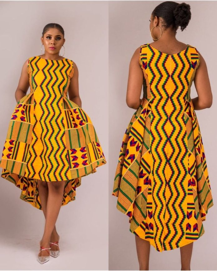 latest cute ankara styles 2019 for ladies