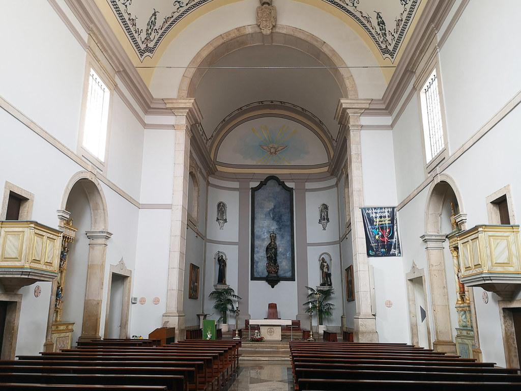 Albufeira altar mayor interior Iglesia Matriz Algarve Portugal 05