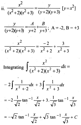 Plus Two Maths Chapter Wise Questions and Answers Chapter 7 Integrals 73