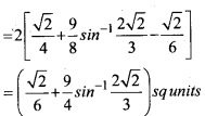 Plus Two Maths Chapter Wise Questions and Answers Chapter 8 Application of Integrals 38
